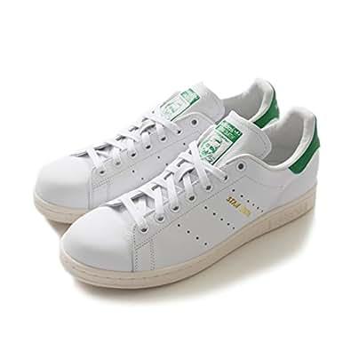 adidas originals アディダスオリジナルス STAN SMITH スタンスミス 白緑 正規取扱品 (25.0,White/Green(S75074))