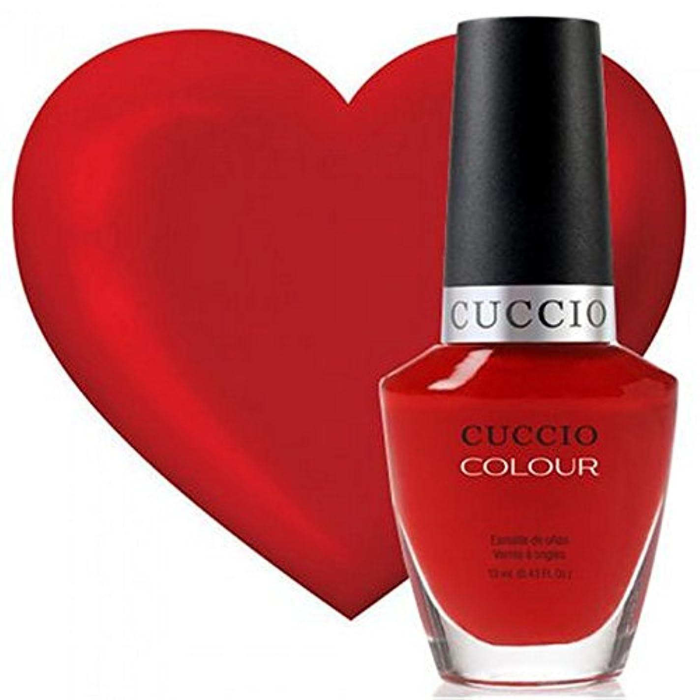 容疑者中庭一掃するCuccio Colour Gloss Lacquer - A Pisa My Heart - 0.43oz / 13ml