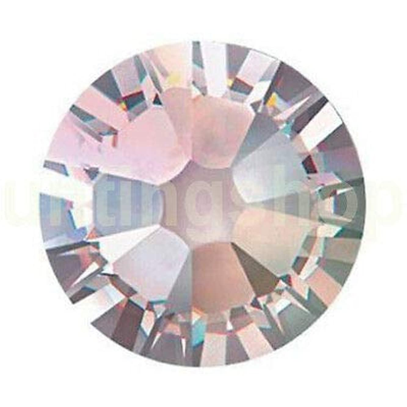 インシデント考える納屋FidgetGear DIY 1.3-8.5 mmクリスタルヒラタラインストーンネイルアートデコレーションSS3-SS40 クリスタルAB