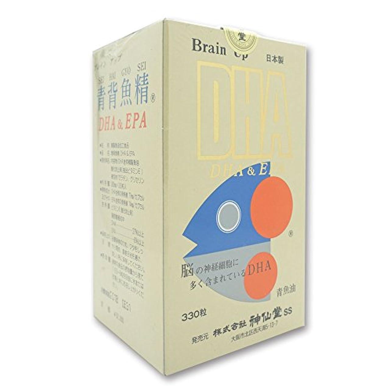 頻繁に防腐剤湖神仙堂 青背魚精 DHA&EPA 330粒 精製魚油加工食品