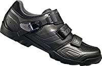 Shimano M089 SPD Shoes - Black Size 43 wide Black [Sports] by Shimano [並行輸入品]