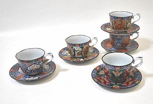 波佐見焼 献上古伊万里 コーヒー碗皿揃 31802 西海陶器