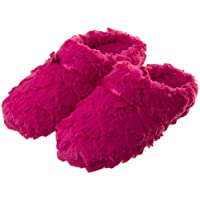 Tofern Slippers Ultra Soft Comfy Fluffy Warm Satin Memory Foam Non Slip Sole Winter