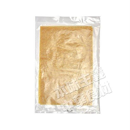 友盛特色押し豆腐系列冷凍半乾燥豆腐皮(半乾燥ゆば) 中華食材・中華料理人気商品・中国名物冷凍