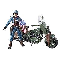 ML Ultimate キャプテン アメリカ wバイク