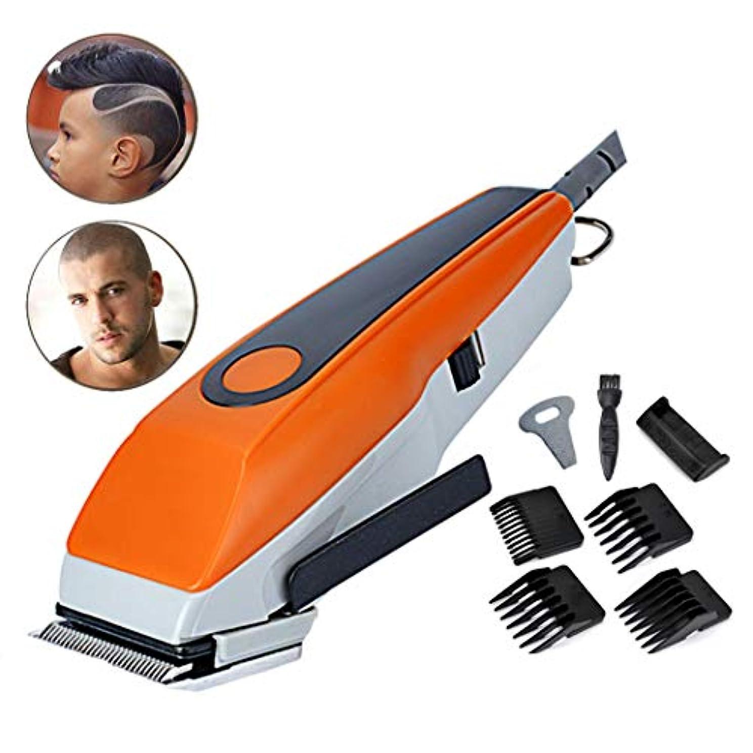 羨望構造傾いたバリカンはげかかった専門のバリカンメンズ電気シェーバー低雑音の毛の切断