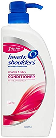 Head & Shoulders Smooth and Silky Anti-Dandruff Conditioner, 6