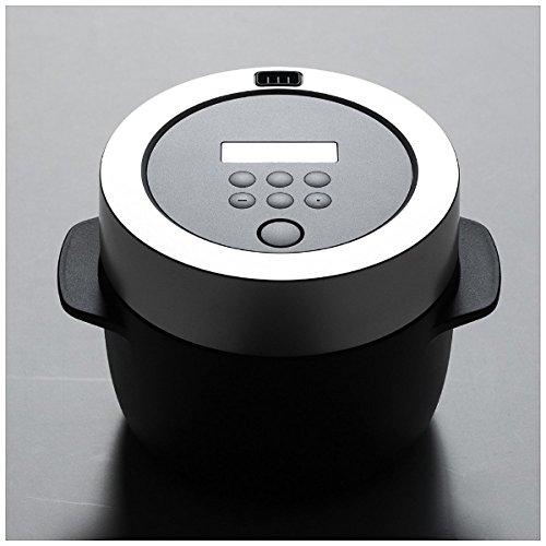 バルミューダ 3合炊き 電気炊飯器 BALMUDA The Gohan バルミューダ ザ・ゴハン K03A-BK ブラック