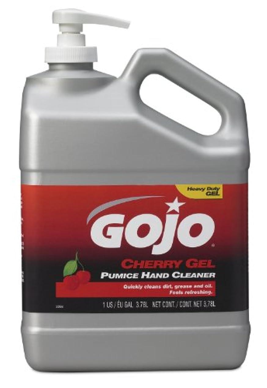 食器棚遵守する確認GOJO 2358 – 02チェリージェル軽石ハンドクリーナーポンプボトル – 1ガロン、( Pack of 2 )