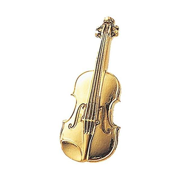 ナカノ スタンダードブローチ バイオリン ゴール...の商品画像