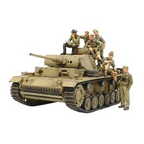 タミヤ 1/35 ミリタリーコレクションシリーズ No.05 ドイツ陸軍 III号戦車 L型 ロンメル 野戦指揮セット プラモデル 32405