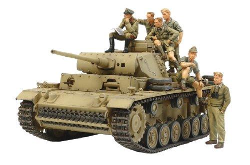 1/35 スケール限定シリーズ ドイツ III号戦車L型 ロンメル 野戦指揮セット 32405