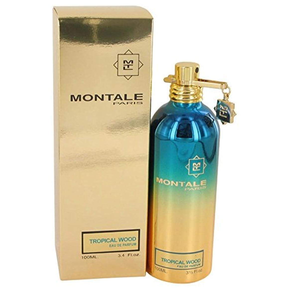 舌なお差し引くMontale Tropical Wood 100ml/3.4oz Eau De Parfum Spray Unisex Perfume Fragrance