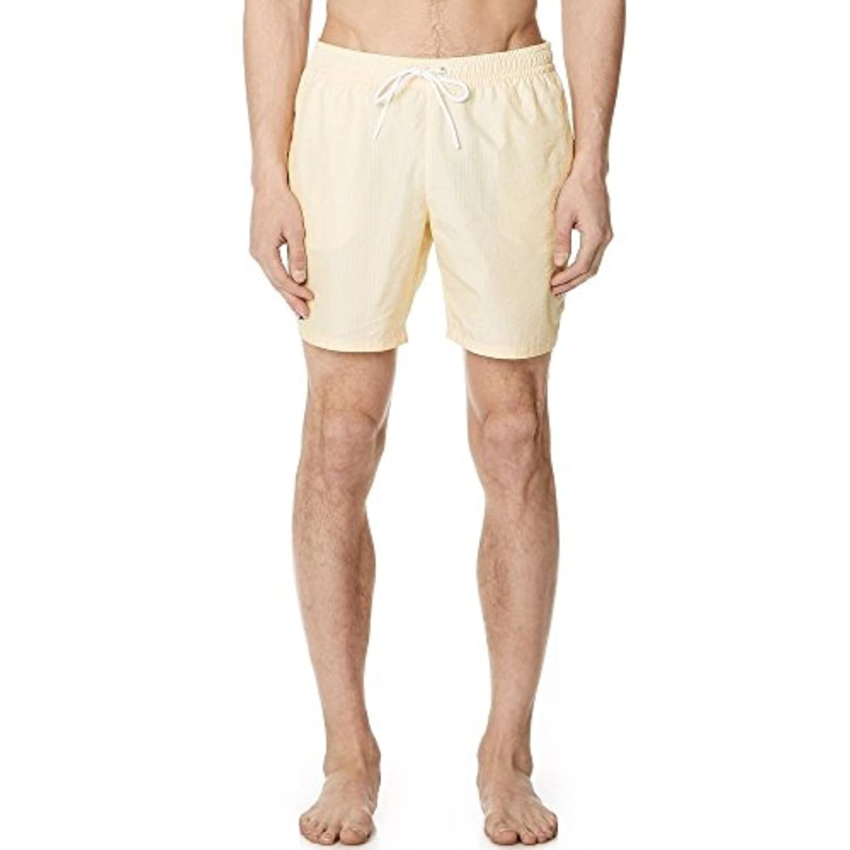 (ラコステ) Lacoste メンズ 水着?ビーチウェア 海パン Striped Swim Shorts [並行輸入品]