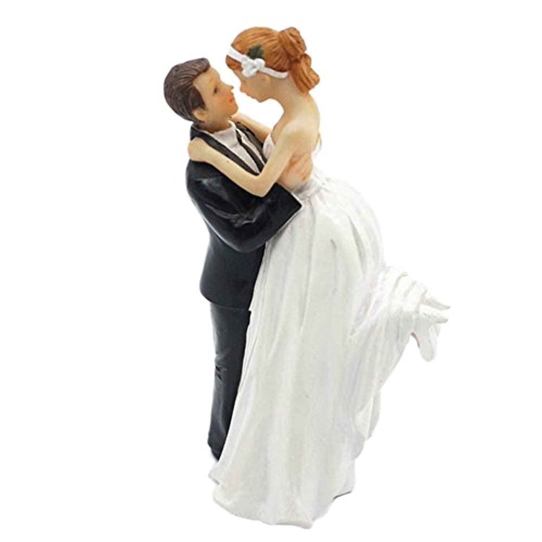 cyndie ケーキトッパー ウエディング ロマンチック ケーキ飾る用品 超おもしろい ウェディング フィギュア 結婚式 周年記念 装飾 花嫁花婿 プロポーズ 誕生日パーティー ウェディングケーキ  wedding cake topper 20個デザイン 1