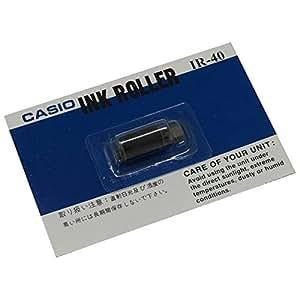 カシオ プリンタ電卓・電子レジスタ用インクローラー 12桁+12桁 IR-40