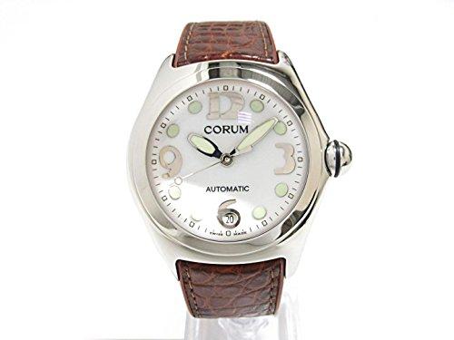 [コルム] CORUM バブル 腕時計 ウォッチ ホワイト ステンレススチール(SS)xラバーベルト 82.150.20 [中古]