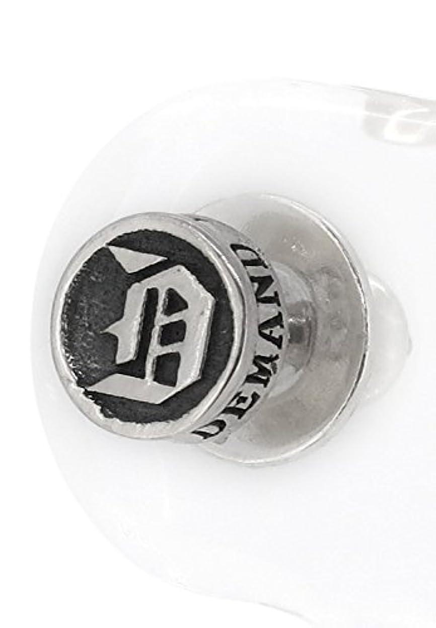 ぼんやりした堂々たる有名[ディーアンドディー] D and D D イニシャル シルバー925 スタッド ピアス (1P 片耳用) P1-107-00 人気 ブランド メンズ