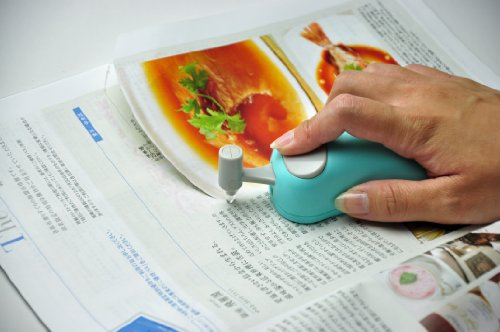 長谷川刃物 HARAC マウス型カッター Line D-LINE-BU ブルー