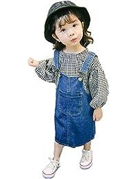 2d90a416ab3a9 (ビートゥモロー) b-tomorrow キッズ 女の子 子供服 ワンピース ジャンパースカート ジャンスカ つなぎ