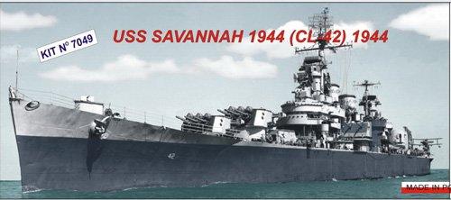 1/700 ブルックリン級軽巡洋艦 CL-42 サヴァンナ1944 PN07049