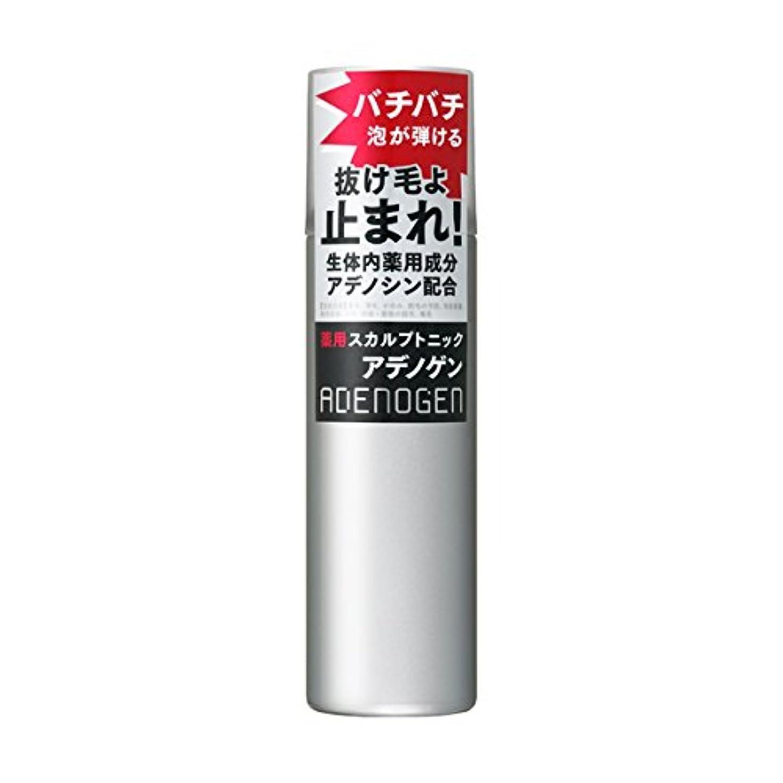 歯タックル戦略アデノゲン 薬用スカルプトニック 130g 【医薬部外品】
