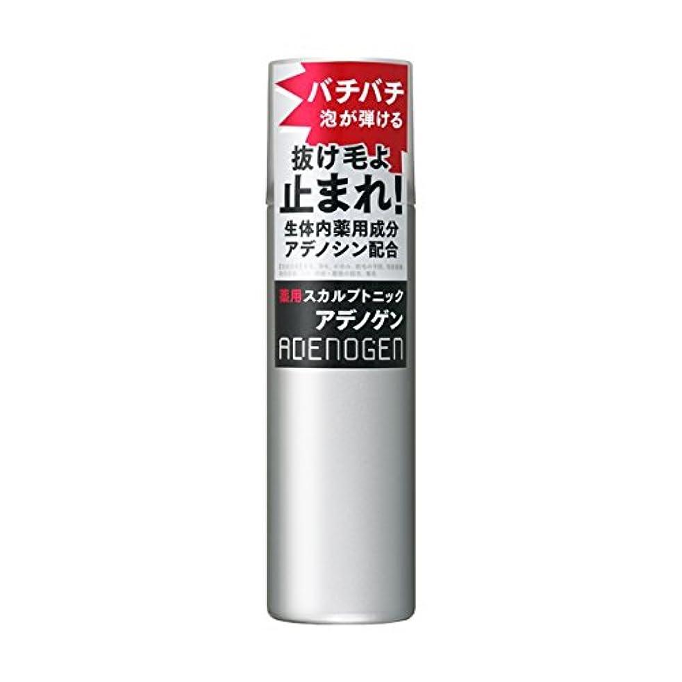 プラスチック発掘するバンドアデノゲン 薬用スカルプトニック 130g 【医薬部外品】