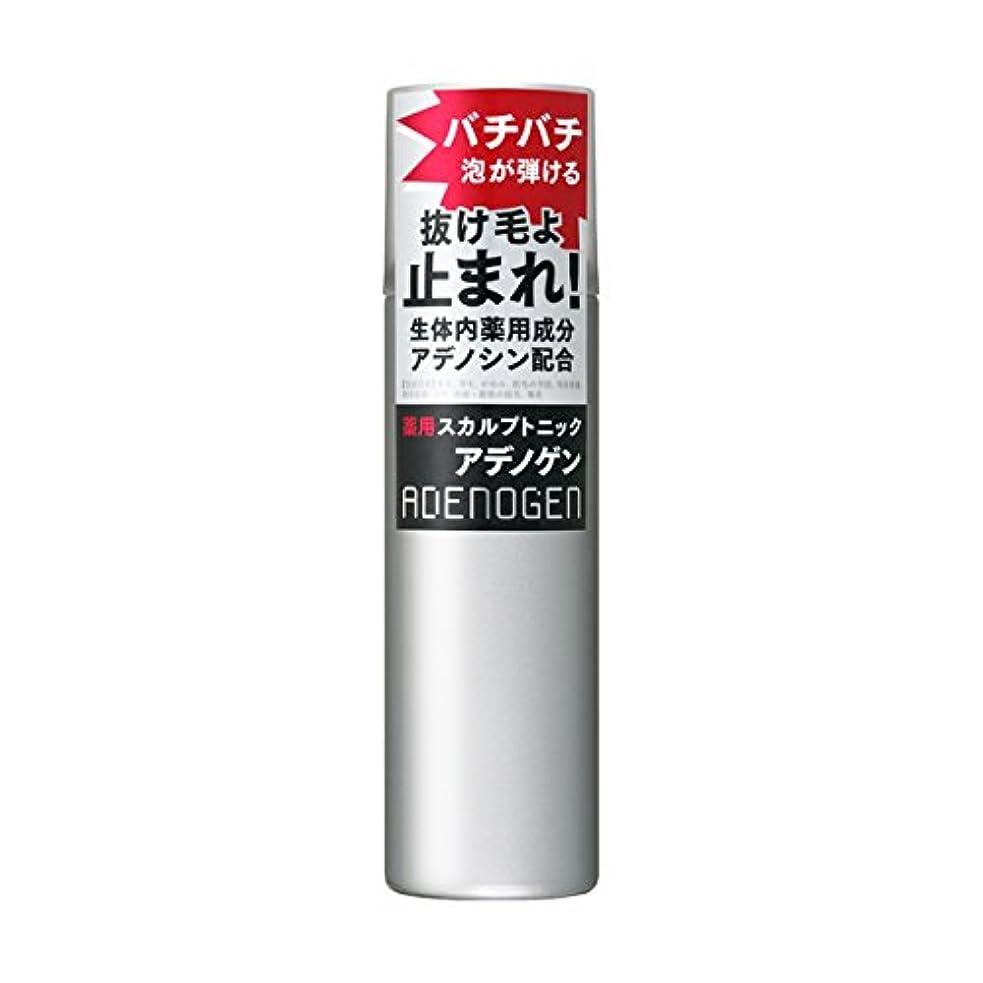 積極的に羽金属アデノゲン 薬用スカルプトニック 130g 【医薬部外品】