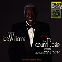 Live At Orchestra Hall, Detroit by Joe Williams (1993-03-23)