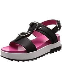 (ディーゼル) DIESEL レディース フラット ドレッシーサンダル DUKESSA D-UKESSA WSB - sandals Y01730PR013