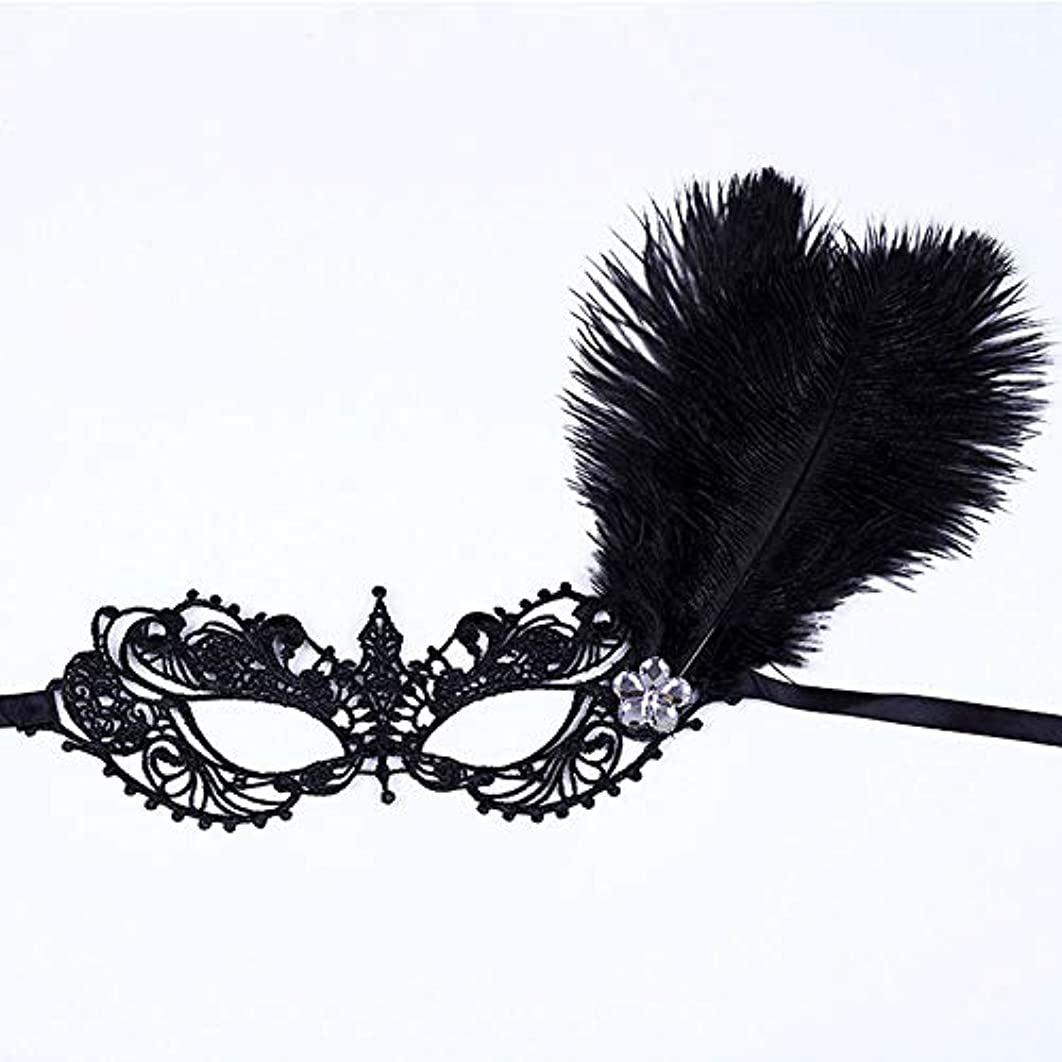 食用断片動機付けるハロウィンマスクマスク仮面舞踏会レースマスクキャットウォークパーティーセクシーマスクブラック