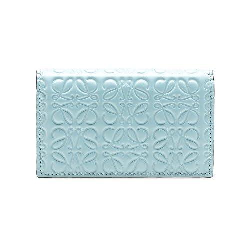(ロエベ) LOEWE レディース 名刺入れ REPEAT BUSINESS CARD HOLDER ストーンブルー 107 55 M97 5900 STONE BLUE [並行輸入品]