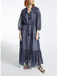 (マックスマーラ) MaxMara Women`s Cotton and Silk Voile Dress 女性の綿とシルクヴォイルドレス(並行輸入品)