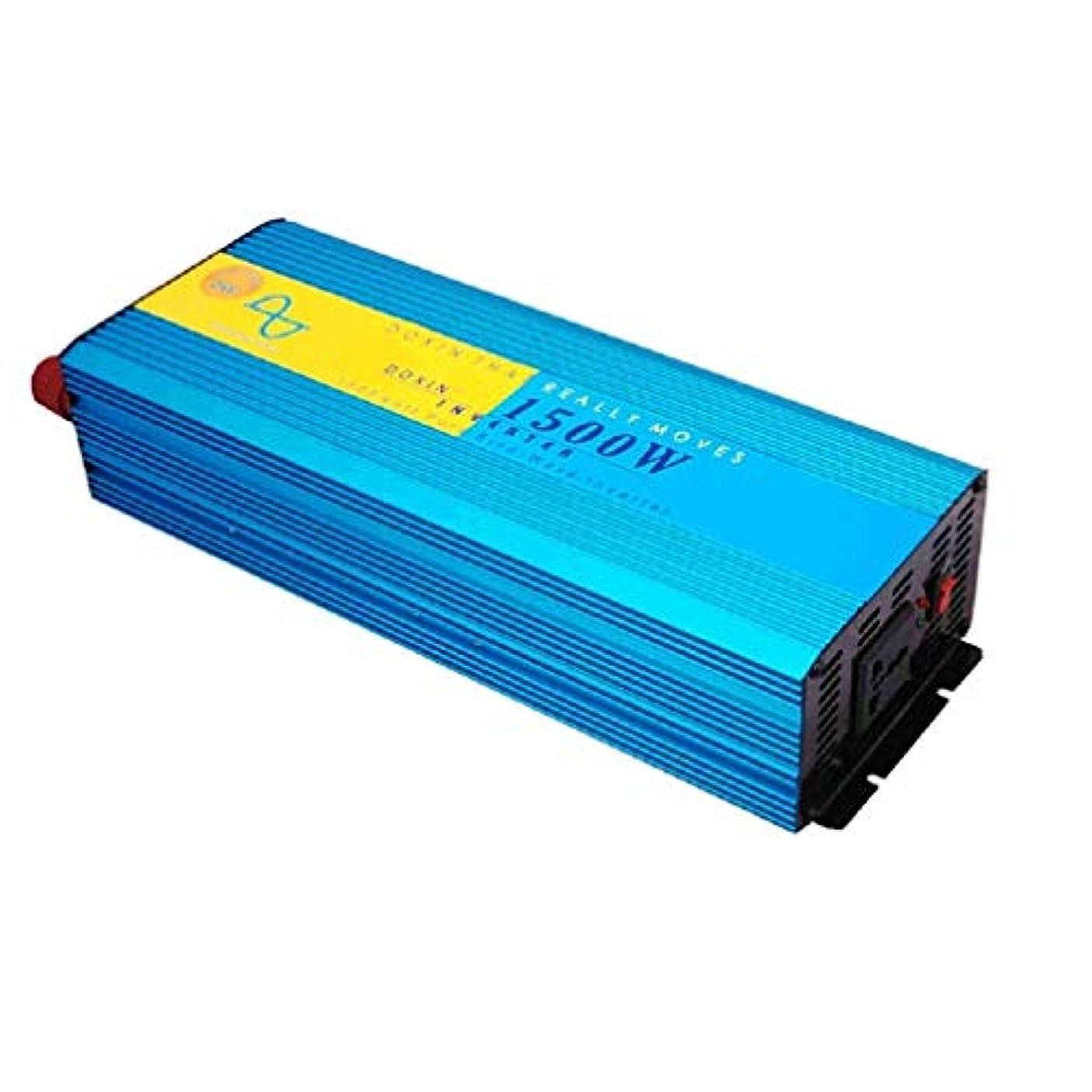 幻想的バイアス承知しました1500W車用パワーインバーター、12V / 24Vから220v電気自動車用インバーター車用パワーコンバーター車用パワーインバーター(サイズ:24V / 220V / 1500W)
