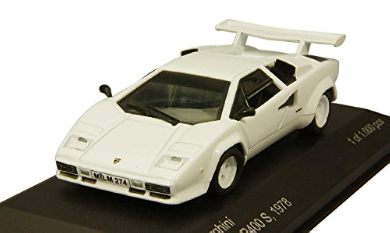 WHITEBOX 1/43 ランボルギーニ カウンタック LP400S 1978 ホワイト 完成品