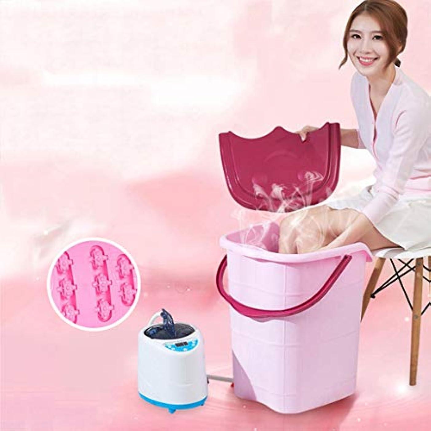 楽な乱暴なライブZ-フットバススパ浴槽 - ペディキュアのための大きなプラスチック製のフット洗面台、それはあなたの足を浸すのに最適です、つま先の爪 (Size : 39×44×35cm)
