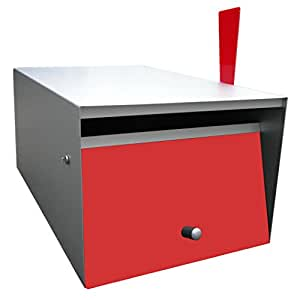 Box Design ポスト 郵便受け Rural Red