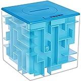 AlfaView 貯金箱 7.7*7.7 ブルー ABS AH01-BU ソフトバンク