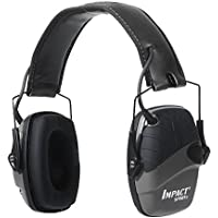Howard Leight by Honeywell Impact Sport Sound Amplification Electronic Earmuff, Black