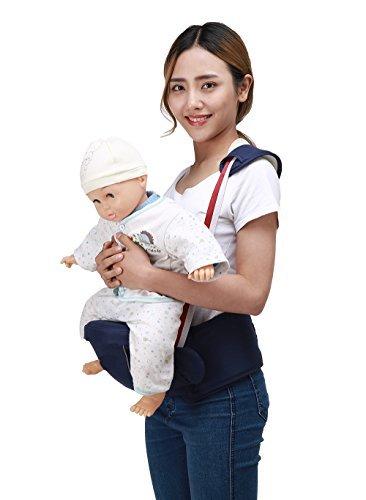 Zaitun ベビー 抱っこひも ウエストキャリー ヒップシート 肩ストラップ付き ベビーキャリーア 赤ちゃん 調...