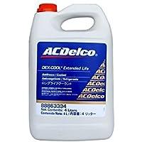 (エーシーデルコ) ACDelco クーラント デキシクール レッド 4L ロングライフ 冷却水