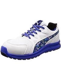 [プーマセーフティー] 安全靴 作業靴 リレー ロー JSAA A種認定 先芯合成樹脂 衝撃吸収 静電 靴幅4E ジャパンモデル メンズ