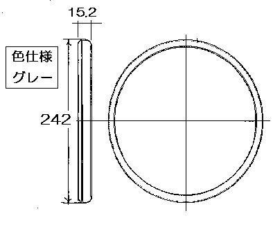 リンナイ ガス炊飯器専用部品 ふたパッキン 580-559-000