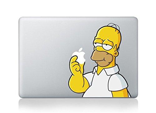 ザ・シンプソンズ The Simpsons ホーマー Macbookpro/air13インチ対応 ステッカー 14.77 [並行輸入品]