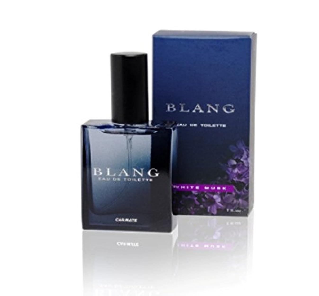 文明化モード価値のないカーメイト 香水 芳香剤 ブラング オードトワレ 置き型 ホワイトムスク 販売ルート限定品 30ml L531