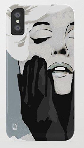 マリリン・モンロー iPhone 8/8plus Xケース society6 [並行輸入品] (iPhone X, marilyn07)