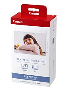 Canon カラーインク / ペーパーセット 純正 KP-72IN