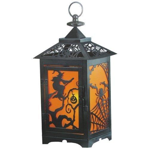 ハロウィン LED ランタン Halloween デコレーシ...