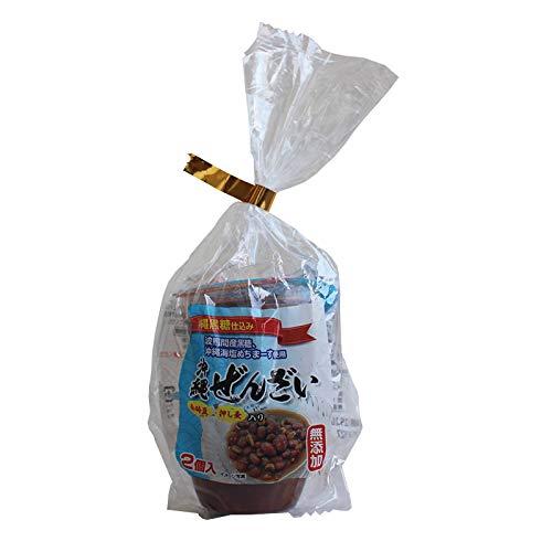 沖縄ぜんざい 2個入×20個 沖縄デイリーフーズ 金時豆 押し麦 無添加