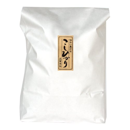 新潟産コシヒカリ [分づき米 五分搗き] 5kg